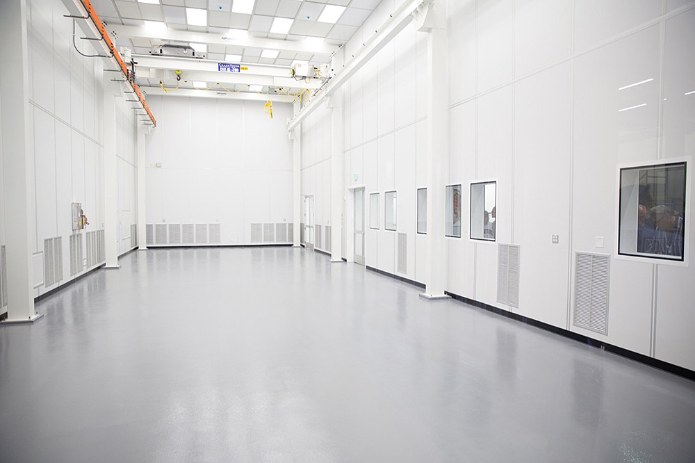 SLAC's camera assembly clean room completed in 2015